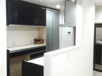 バスルームリフォーム white&blackをテーマに高級感あふれる空間を演出