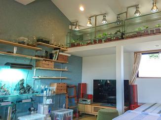 内装リフォーム 趣味の時間を心ゆくまで堪能できる収納たっぷりのお部屋